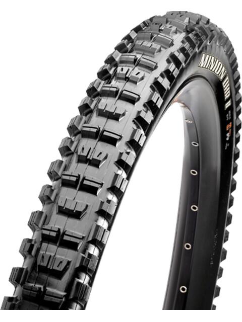 "Maxxis Minion DHR II - Pneu vélo - 27.5x2.60"" EXO+ TR 3C MaxxTerra noir"